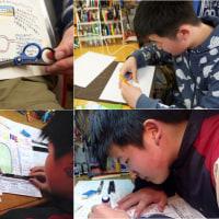 『文房具図鑑』山本健太郎くんは左利きの小学生(当時)
