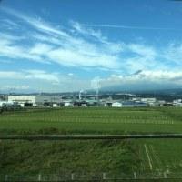 新幹線の車窓から、、、、