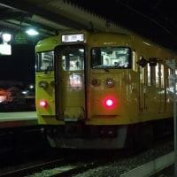 岡山の列車(115系普通列車)