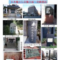 日本橋から京橋へ 史跡探訪