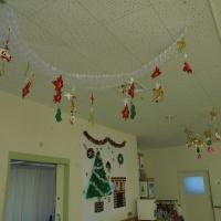 1階のクリスマス飾り