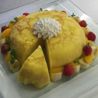 ゴージャスなケーキ