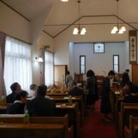 川本伝道60年記念礼拝