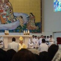 カトリック大阪大司教区 『助祭および司祭叙階式』