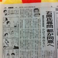 築地を守る裁判:東京都は、石原元都知事らの証人尋問に同意する方針H29.4.27毎日新聞 578億円の都への返還請求