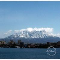 桜島冠雪 3