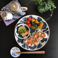 【生存報告】&【鹿児島睦】さんの器を使った食卓(19)〜ブルーの器編〜