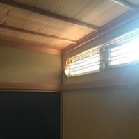 朝日と東の窓と理科の実験
