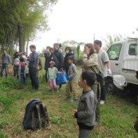 里山体験プログラム「たけのこ掘り」①