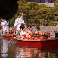 柳川雛祭りさげもんめぐり 水上パレード 観光柳川キャンペーンレディ水の精 2017・3・19