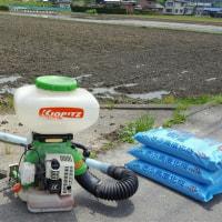 JAぎふ高度化成の肥料散布