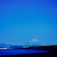 02/Dec 富士山とオリオン座とシーキャンドルとコフクザクラ