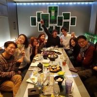サンユンさんほか出演者写真~@'공항 가는 길(空港に行く道)'新年会