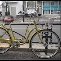 ★限定特価車・おしゃれ・26インチ・6段ギヤ・LEDオートライト・カーキ色