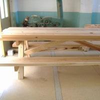野外テーブル