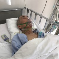 入院5日目の父