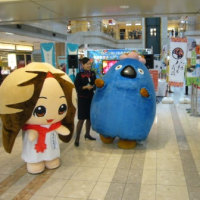 羽田空港でPRしてきたべぇ(。・o・)ノ