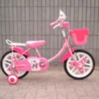 128 補助輪なし自転車