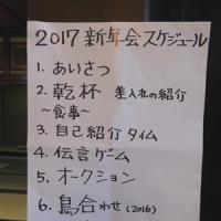 2017 日本野鳥の会石川 新年会。(1/15*日)