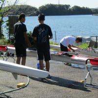 艇の洗浄・整備