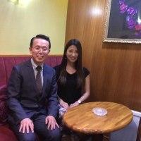 仲谷アナウンサーとお会いしました(^^)[福岡市社交ダンス教室・社交ダンスパーティー、ダンススクールライジングスターはおかげさまで20周年]