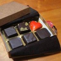 チョコレートの花