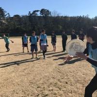 新潟大学アルティメットサークル アイビスの練習にお邪魔しました!
