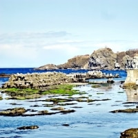 津軽国定公園「高野崎」の景観