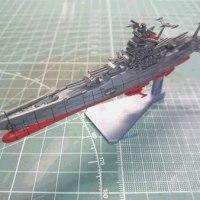 バンダイ宇宙戦艦ヤマト2199メカコレ『ヤマト』お手軽仕上げ(その3)