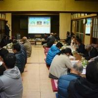 若林本田行政区の総会にて行政報告会を開催させていただきました。