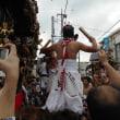 山あげ祭「ブンヌキ」(お囃子の競演)