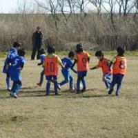 【優勝!!】2月27日 1年生・3年生親善サッカー大会