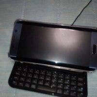 Galaxy s6 edge スライドキーボード搭載