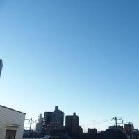 今朝(12月10日)の東京のお天気:晴れ