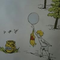 プーさんと風船🎈