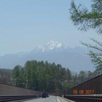 八ヶ岳と甲斐駒