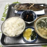 食堂徳市-焼き鯵定食