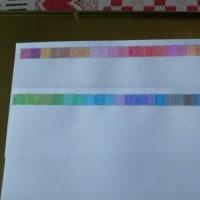 昨日50色の色鉛筆買いました~
