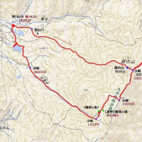 昭和の森から三郡尾根山歩(福岡県)