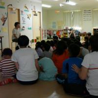 小学校子どもルーム おはなし会の報告