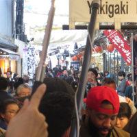 宮島にくる有名人と カープの優勝報告会