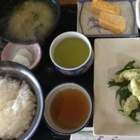11月28日の日替わり定食550円は 鶏青のり天ぷら です。