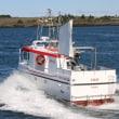 Trefjar 建造の新漁船が Trondheimへ