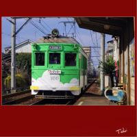 166号機 ・ 緑の雲塗装時代