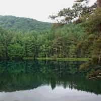 横谷温泉と御射鹿池