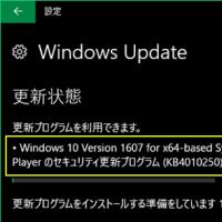 2月の更新プログラムは Adobe Flash Player・・・