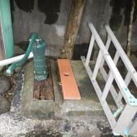 手押しポンプ 人工木板に交換 メンテナンスフリー #手押しポンプ