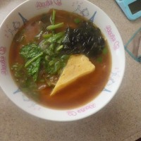 第三弾・らーめんのつゆで親子丼(サラダチキン)