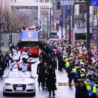 日ハムの優勝祝賀パレード