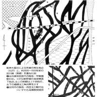 「阪神大震災による死者の発生地点と旧河川跡を重ねた地図」 立命館大学の高橋学氏(環境考古学)が作成!